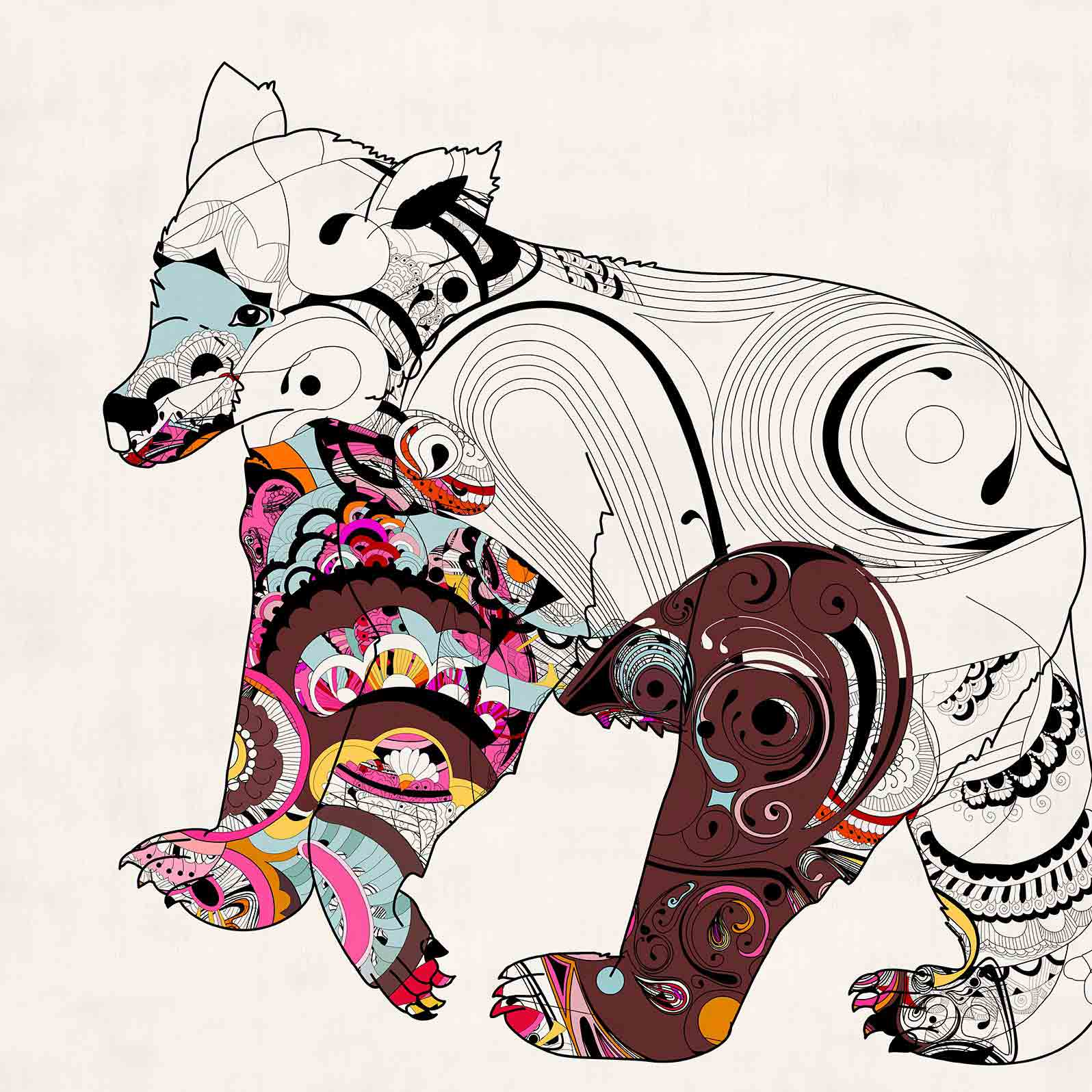 Anca Stefanescu | Contemporary Painter | Brother's Bear Digital Art