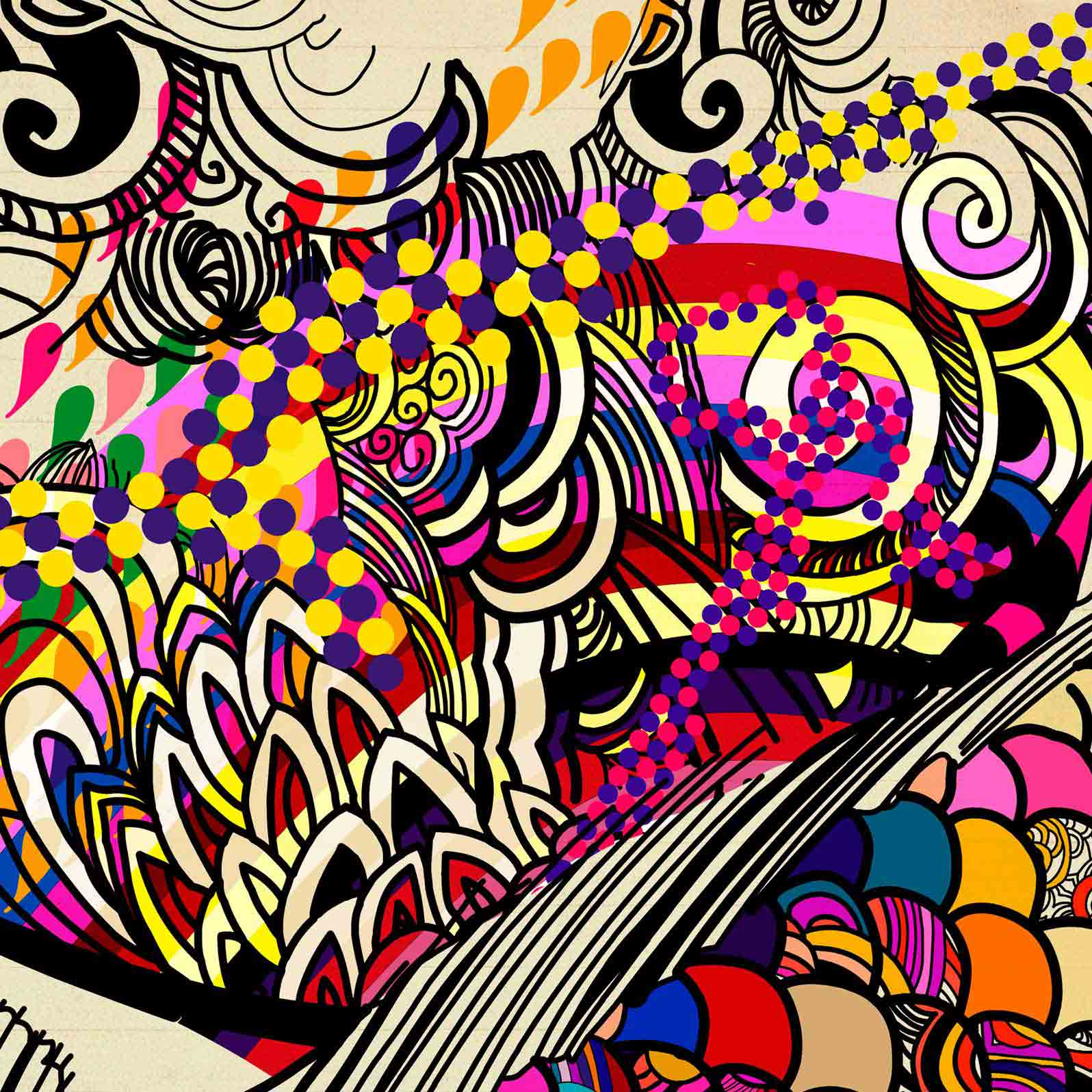 Anca Stefanescu | Colour Alchemy Digital Art, Computer Art on Canvas