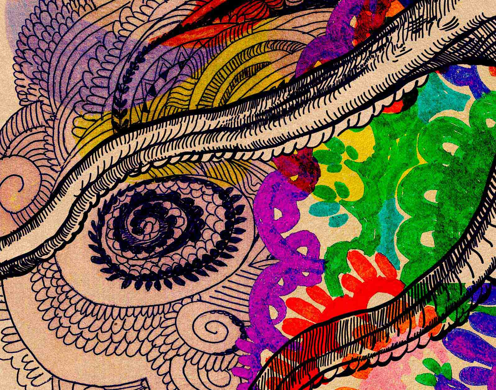 Anca Stefanescu | Octopus's Garden Digital Art, Computer Art on Canvas