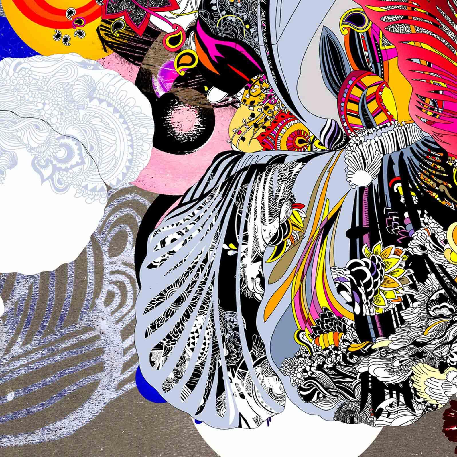 Anca Stefanescu | Hamatreya Digital Art, Print On Canvas