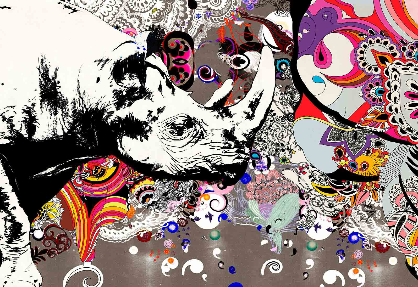 Anca Stefanescu | The Alchemy Of Colour Digital Art, Limited Edition Print On Canvas