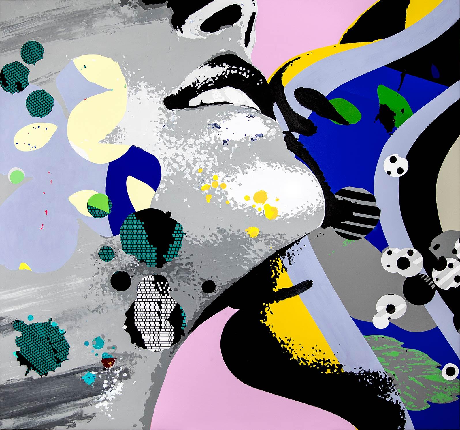 Anca Stefanescu | Mixed Media | Daybreak, Modern Art Acrylic Paintings