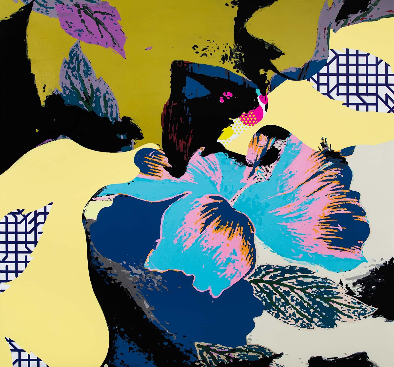 Anca Stefanescu | Mixed Media | Echo, Modern Art Acrylic Paintings
