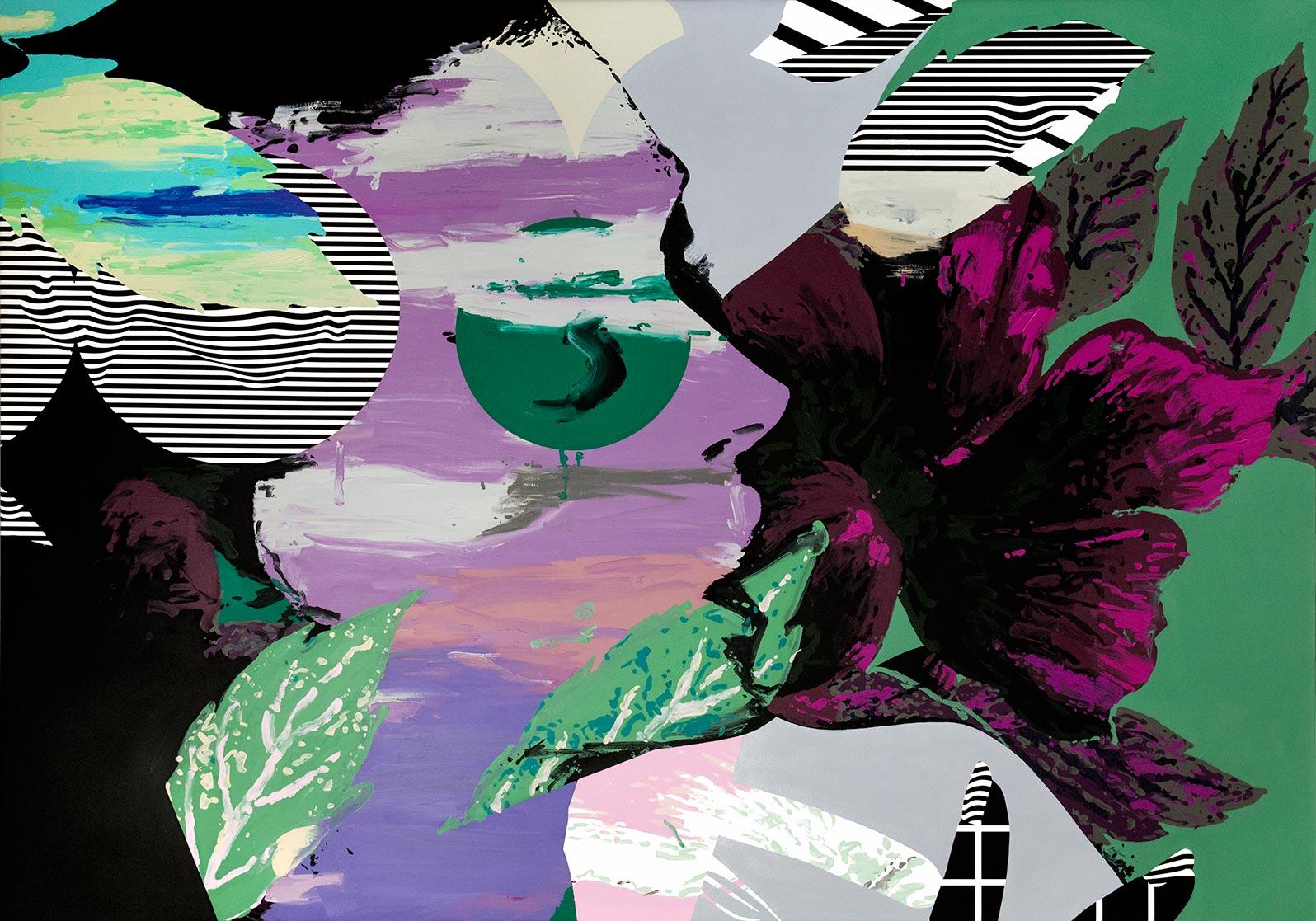 Anca Stefanescu | Mixed Media | BreathingSpace, Modern Art Acrylic Paintings