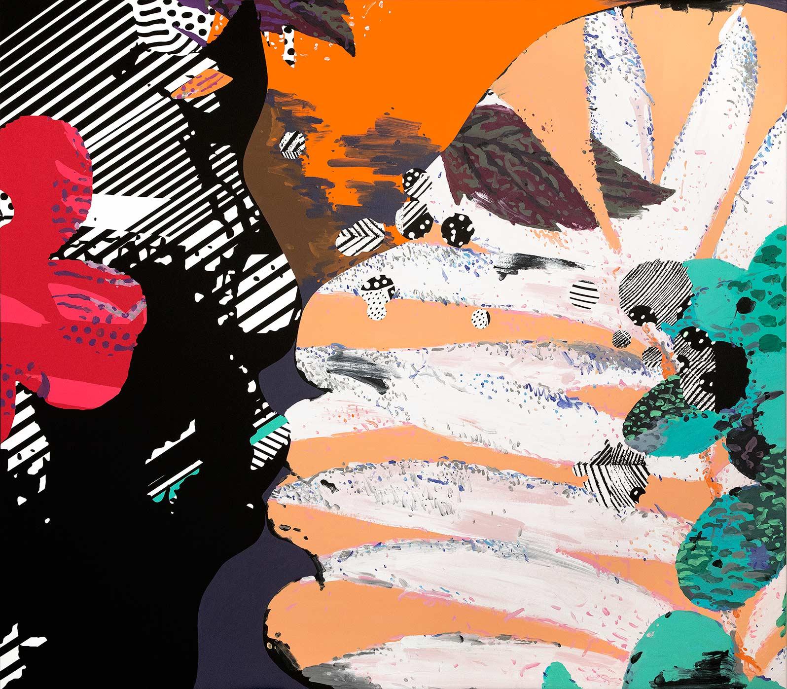 Anca Stefanescu | Mixed Media | Counterparts, Modern Art Acrylic Paintings