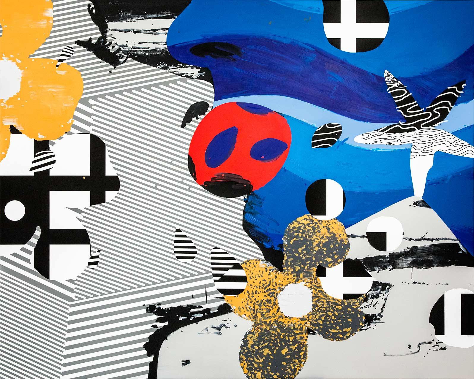 Anca Stefanescu | Mixed Media | Inception, Modern Art Acrylic Paintings
