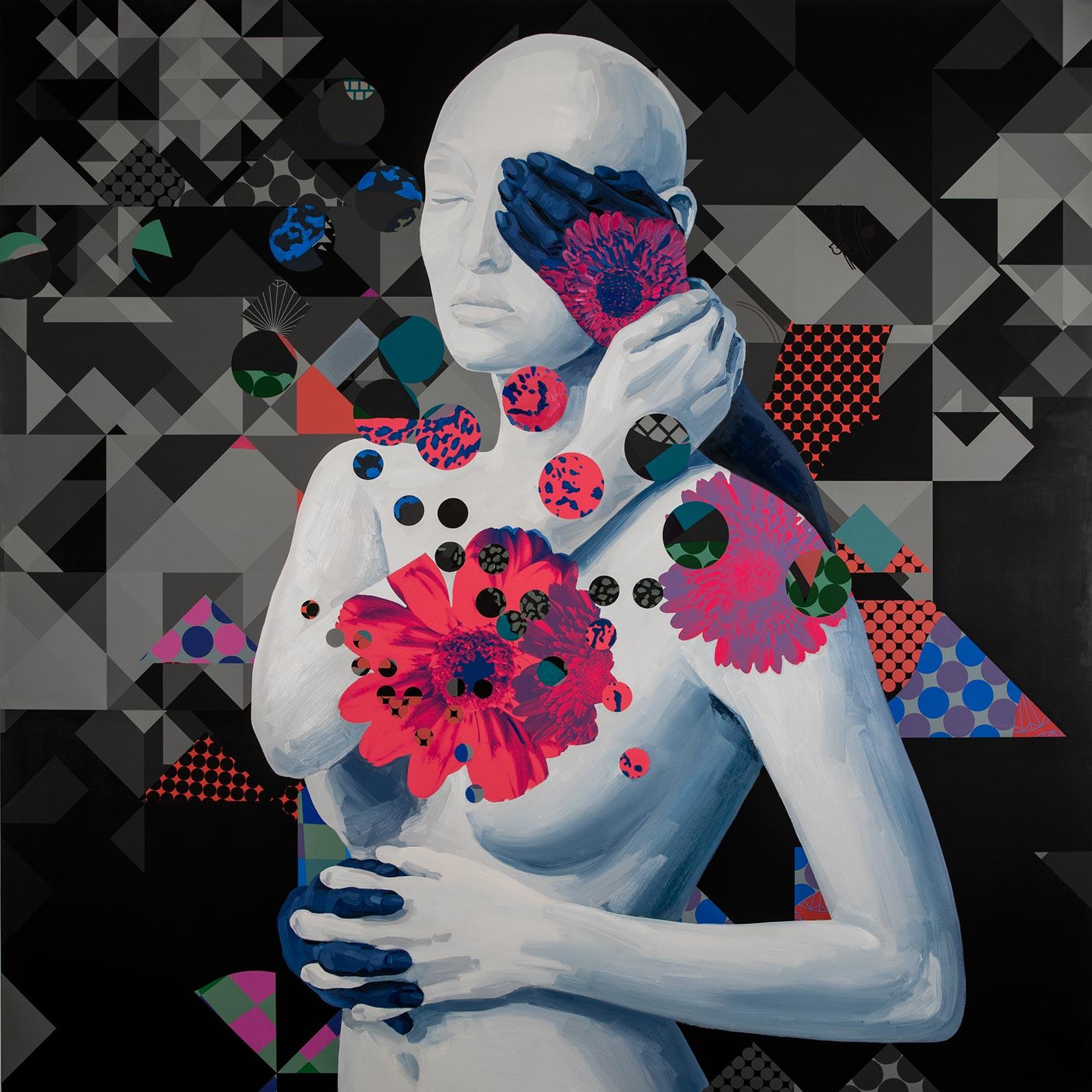 Anca Stefanescu | Mixed Media | AnotherPortionOfSelf, Modern Art Paintings