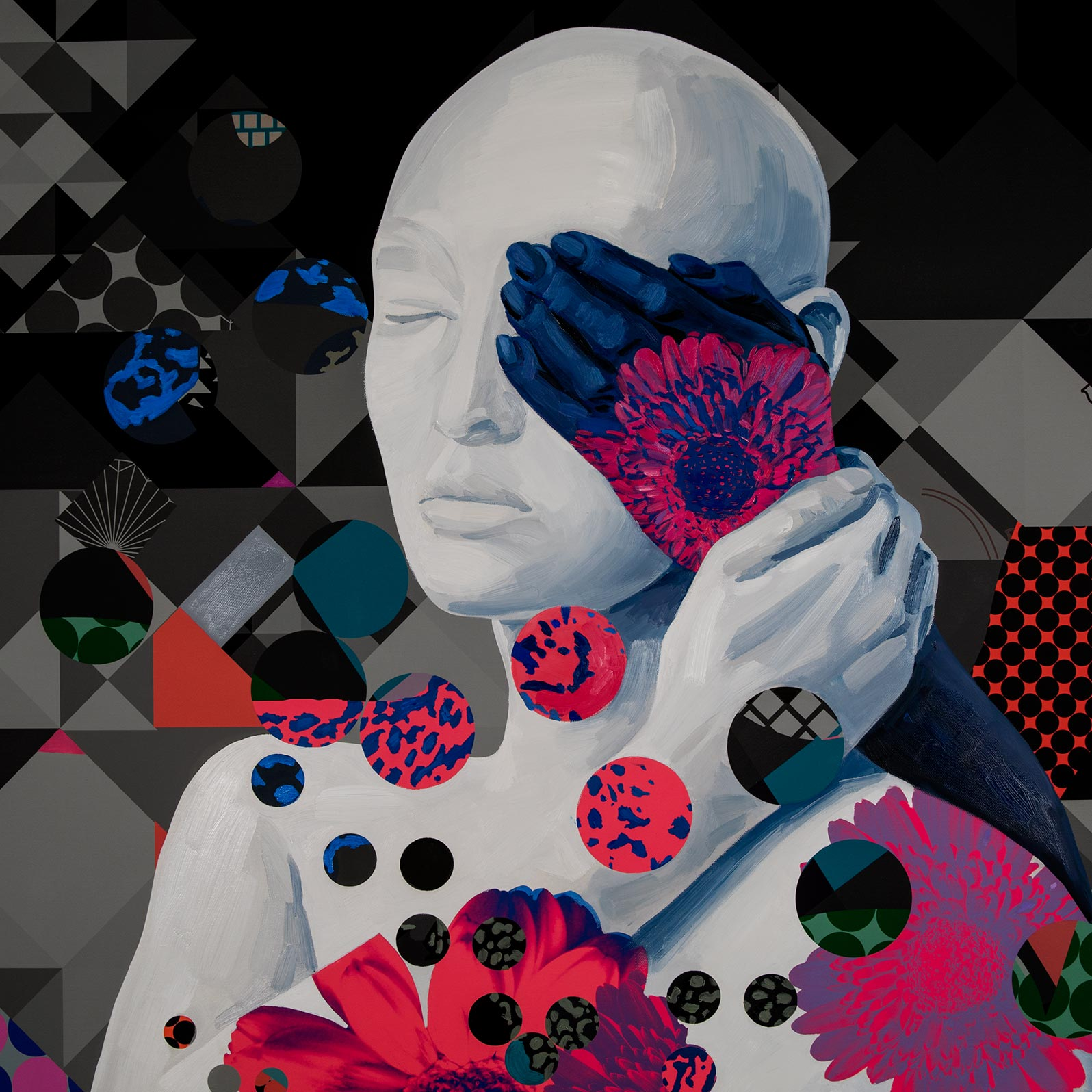 Anca Stefanescu   Contemporary Creative Painter, AnotherPortionOfSelf