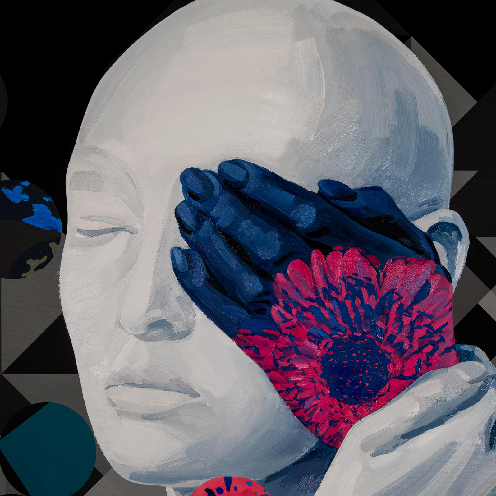 Anca Stefanescu | Modern Oil Painting Artists, AnotherPortionOfSelf