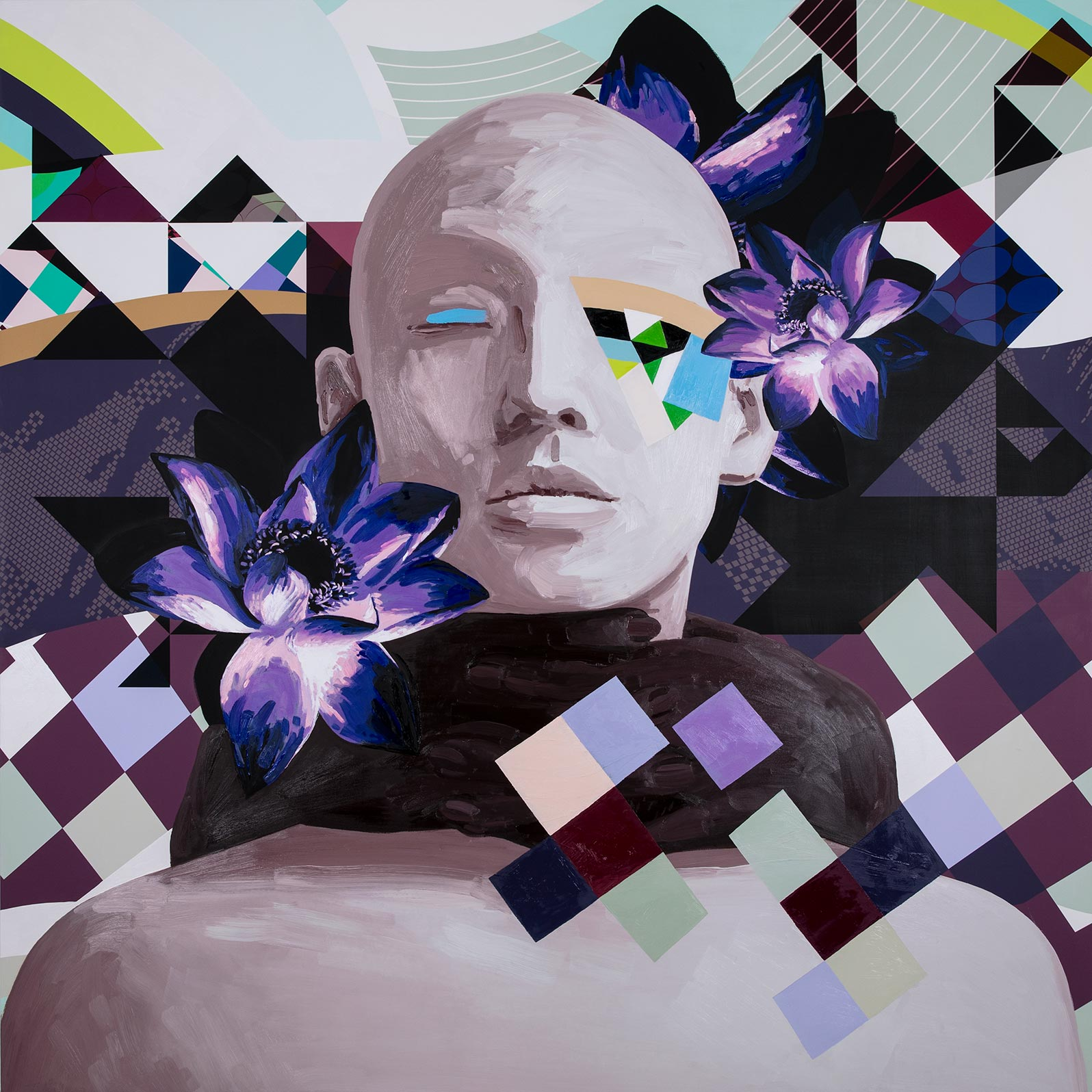 Anca Stefanescu | Mixed Media | Awakening, Modern Art Paintings