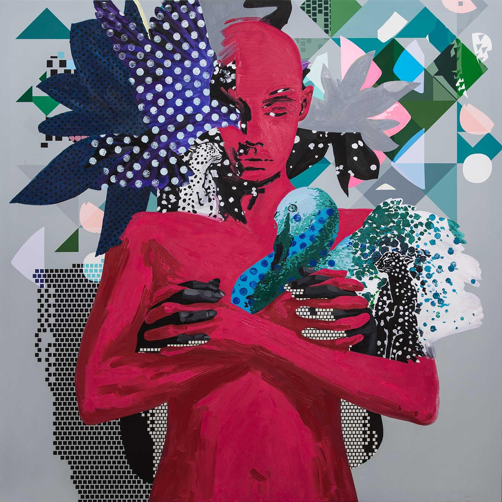 Anca Stefanescu | Mixed Media | Messengers, Modern Art Paintings