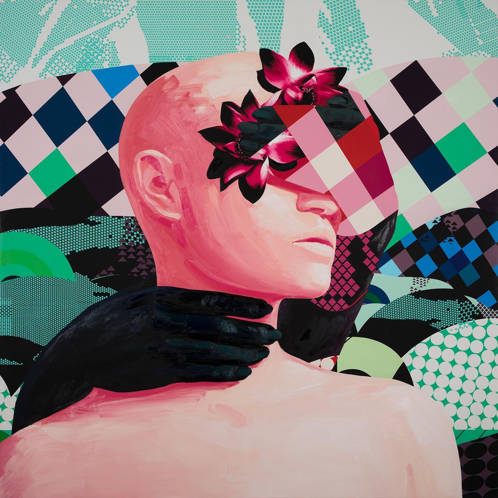 Anca Stefanescu | Mixed Media | OpeningToChannel, Modern Art Paintings
