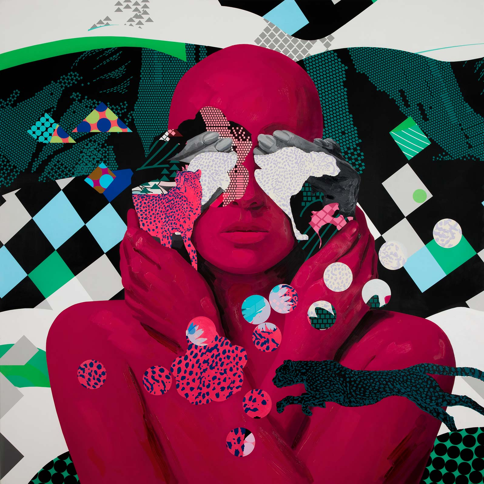 Anca Stefanescu | Mixed Media | PatternsOfPerception, Modern Art Paintings